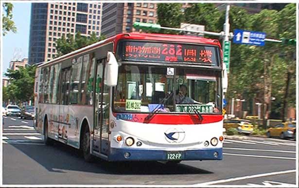 地球バス紀行 台湾