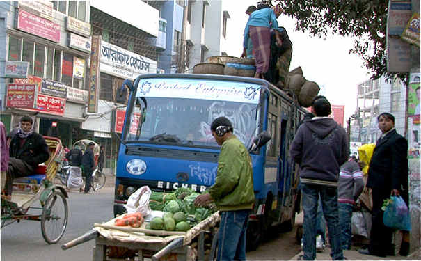 地球バス紀行 バングラデシュ