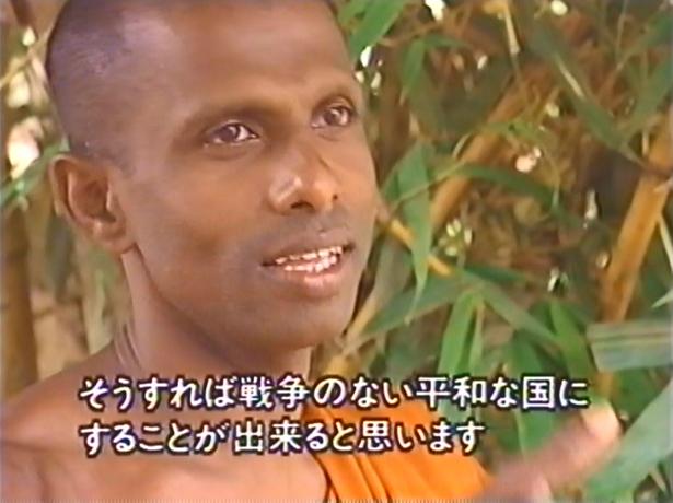 NHK アジアフーズフー 命の限り守りたい 戦場の寺院 カリアーナ・ティッサ スリランカ